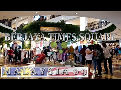Berjaya Times Square shopping mall - Kuala Lumpur | Travel in Malaysia 2017