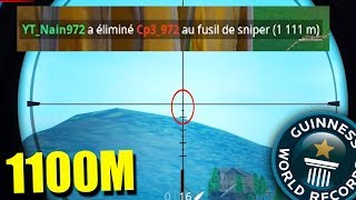 NUEVO SNIPER WORLD RECORD *TIRO MAS LEJADO* de Fortnite: Battle Royale
