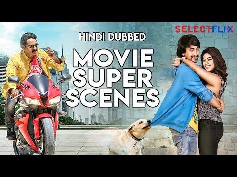 Hindi Dubbed Movie Super Scenes - Compilation   Sirfirein Lootere   Jakkanna