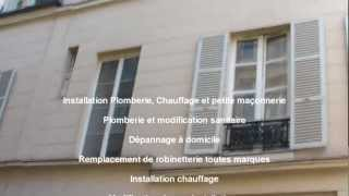 Plomberie Paris 14ème(Plomberie sur Paris Installation, Plomberie et modification sanitaire, Dépannage à domicile, Remplacement de robinetterie toutes marques, Installation ..., 2012-12-03T11:32:45.000Z)
