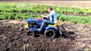 Міні трактор 'Козачок'   Ямпільский ресорний завод(, 2015-06-12T10:32:38.000Z)