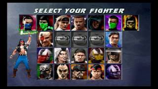 Ultimate Mortal Kombat 3 - Nightwolf【TAS】