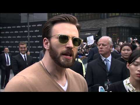 Captain America: The Winter Soldier: China Premiere Red Carpet Footage and Arrivals