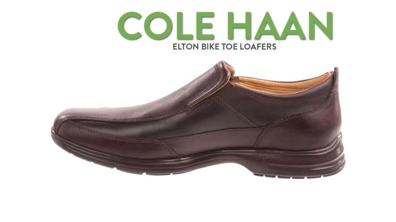 c37ddf1c546 Cole Haan Elton Bike Toe Loafers (For Men) - YouTube