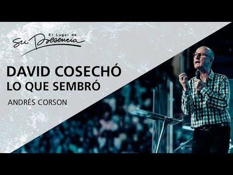 David cosechó lo que sembró - Andrés Corson - 5 Noviembre 2017