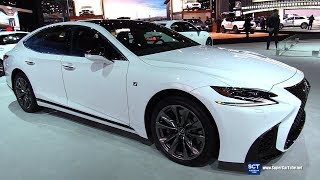 2018 Lexus LS 500 F Sport - Exterior and Interior Walkaround - 2018 New York Auto Show