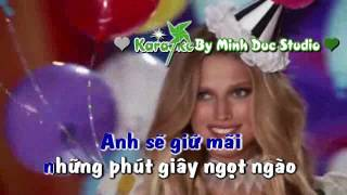 [Karaoke] The Men - Lời Anh Muốn Nói (Remix) [MDD]