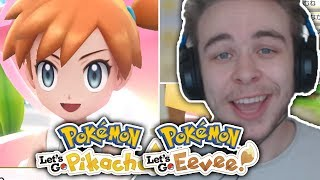 POKEMON LET'S GO PIKACHU & LET'S GO EEVEE NEW TRAILER! New Gameplay & Footage Reaction!