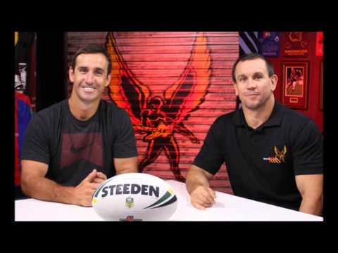 Andrew Johns critises Matty Johns