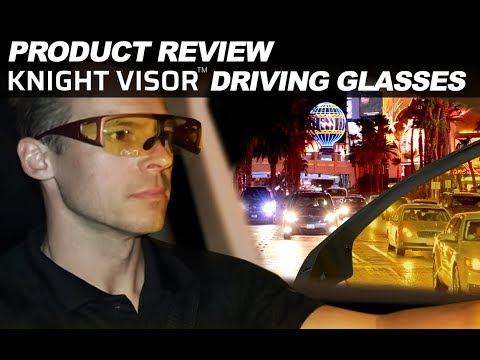 Product Review: Night View Driving Glasses on Everyman Driver