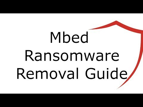 Remove Mbed Virus File Ransomware