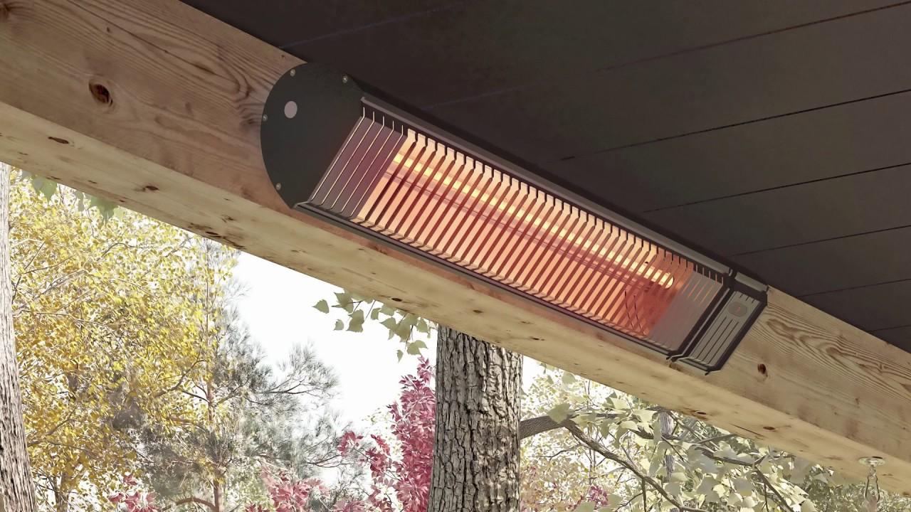 Patio En Bois De Palette chauffe-terrasse infrarouge / patio infrared heater