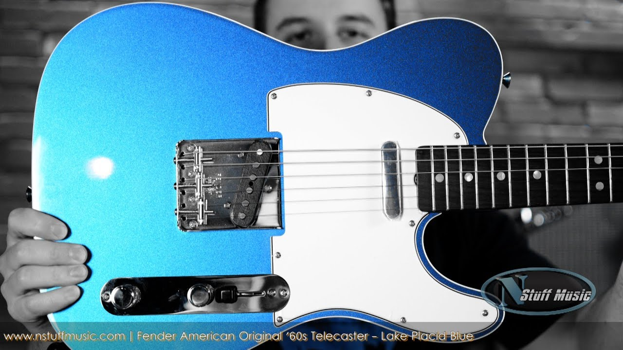 fender american original 39 60s telecaster lake placid blue youtube. Black Bedroom Furniture Sets. Home Design Ideas