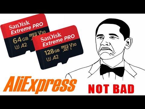 SanDisk Micro Sd 64gb флэшка для 4k видео C Aliexpress