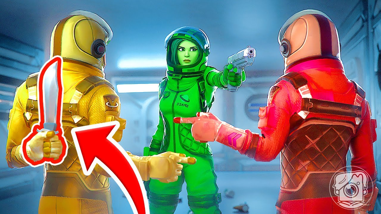 WHO'S the IMPOSTER in FORTNITE AMONG US? (Fortnite Challenge)