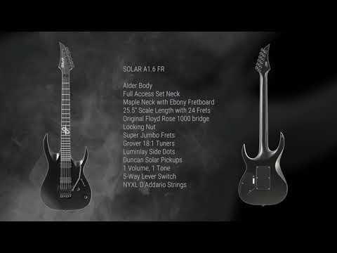 SOLAR Guitars A1.6 Floyd Rose