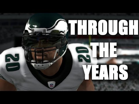 BRIAN DAWKINS THROUGH THE YEARS - MADDEN 97 - MADDEN 12