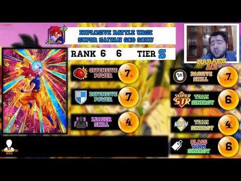 Dragonball Z Dokkan Battle - Goku Ultra Instinct Batch Complete Analysis