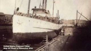 Old Steamships of the Great Lakes 1920 to 1961 #2.wmv