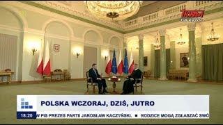 Rozmowy niedokończone z udziałem prezydenta Rzeczypospolitej Polskiej Andrzeja Dudy