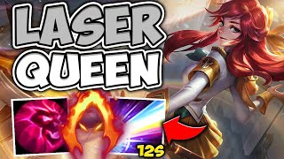 WHEN LUX LASER IS ON A 12 SECOND COOLDOWN! (ABILITY HASTE LUX) - League of Legends