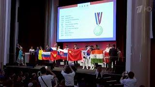 Сразу четыре золота завоевала российская команда на Международной олимпиаде по химии в Париже.