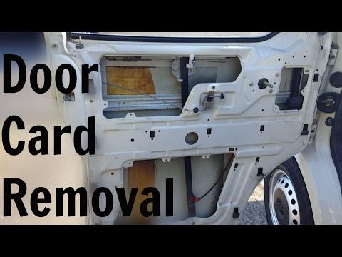 VW T4 Transporter Door Card Removal
