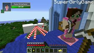 PopularMMOs - Minecraft  FROZEN HUNGER GAMES   Lucky Block Mod   Modded Mini Game1