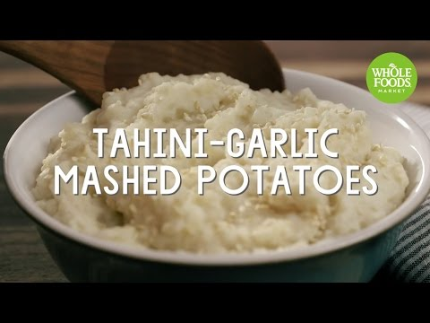 Tahini-Garlic Mashed Potatoes | Special Diet Recipes | Whole Foods Market