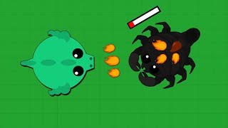 Mope io Dragon KILLS SCORPION!  HOW TO GET BLACK DRAGON