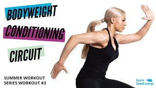 SUMMER SHRED BODYWEIGHT WORKOUT   No-Equipment at Home