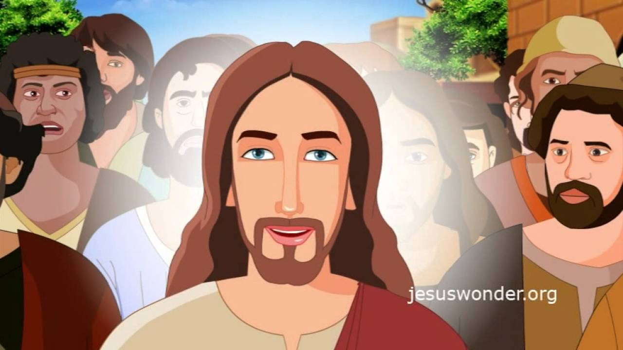 Bible Stories For Kids Zacchaeus Jesus Cartoon Animation In Hindi Youtube