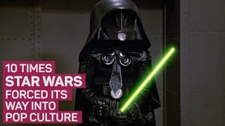 10 times Star Wars forced its way into pop culture