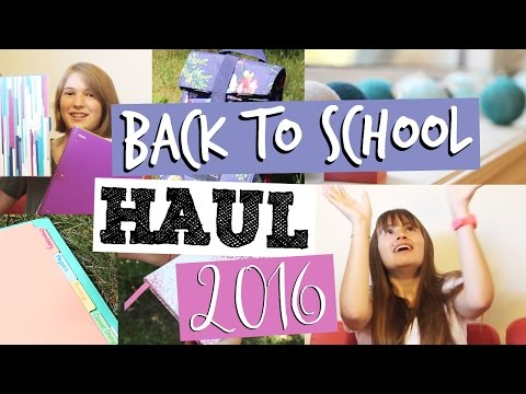 Stationery Haul ft. Lucie | back to school 2016
