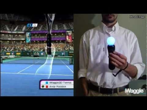 iWatch | Virtua Tennis 4 vs Top Spin 4 PlayStation Move Analysis