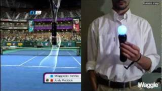 iWatch | Virtua Tennis 4 vs Top Spin 4 PlayStation Move Analysis