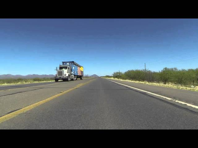 AZ SR 86 East to Ryan Field Airport onto W Valencia Road into Tucson, Arizona, Walmart, GP030575
