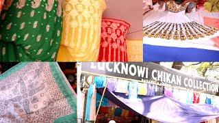 Numaish 2019 | Lucknowi Chikan Dresses, Sarees l Namapally Exhibition
