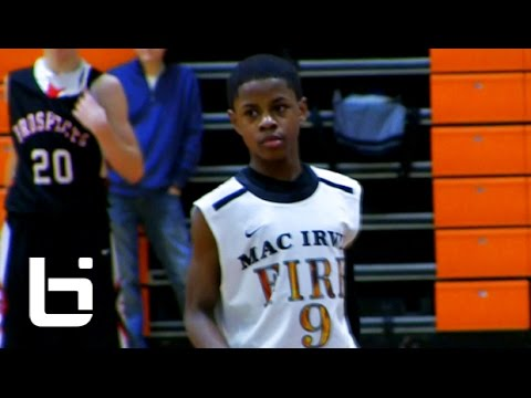 Chase Adams Schools Defenders! Dynamic Pint-sized PG AAU Mix