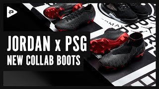 PSG x JORDAN COLLAB FOOTBALL BOOTS UNBOXING & CLOSER LOOK - HOT NEW MERCURIAL VAPOR & PHANTOM