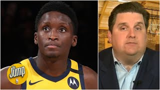 Victor Oladipo traveling with Pacers but not playing is hard to compute – Windhorst | The Jump