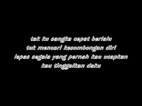 D'masiv   PERGILAH KASIH lyrics on screenmpg