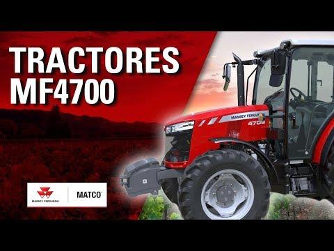 Tractores MF4700 Massey Ferguson