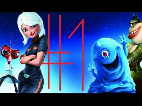 Монстры против пришельцев мультфильм 1 2