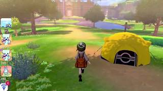 Pokémon Sword and Shield Wild Area Online Gameplay Wild Snorlax