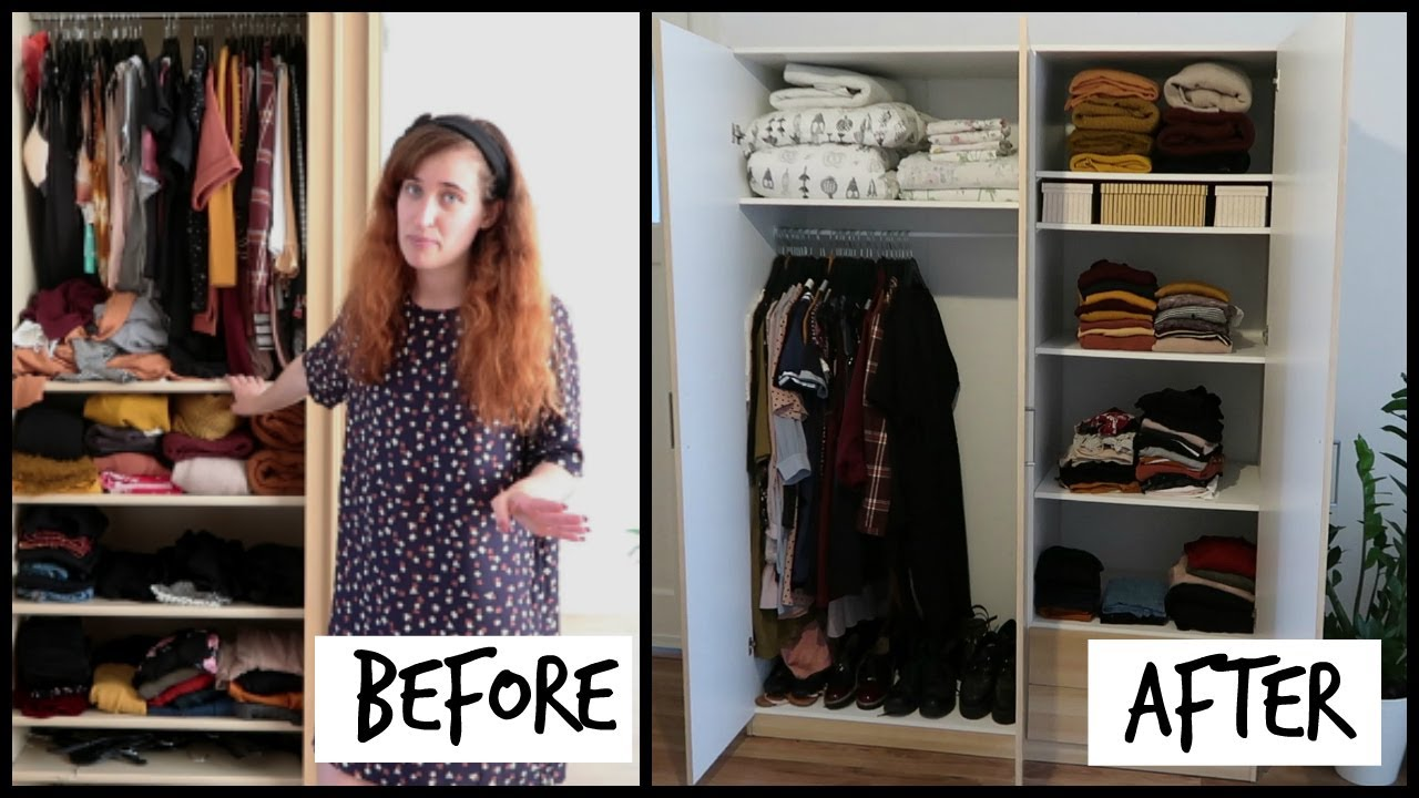 Organising And Building My New Wardrobe + Closet Tout | HiLesley Ann