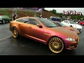 OUTRAGEOUS Pink/Gold Jaguar XJL on 26