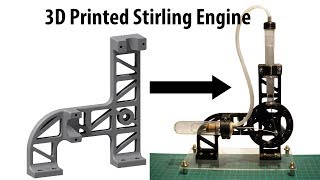 3D printed Stirling Engine Holder