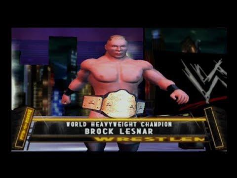 Brock Lesnar (CAW) Season (Part 7) FINALE - WWE SVR (PS2)