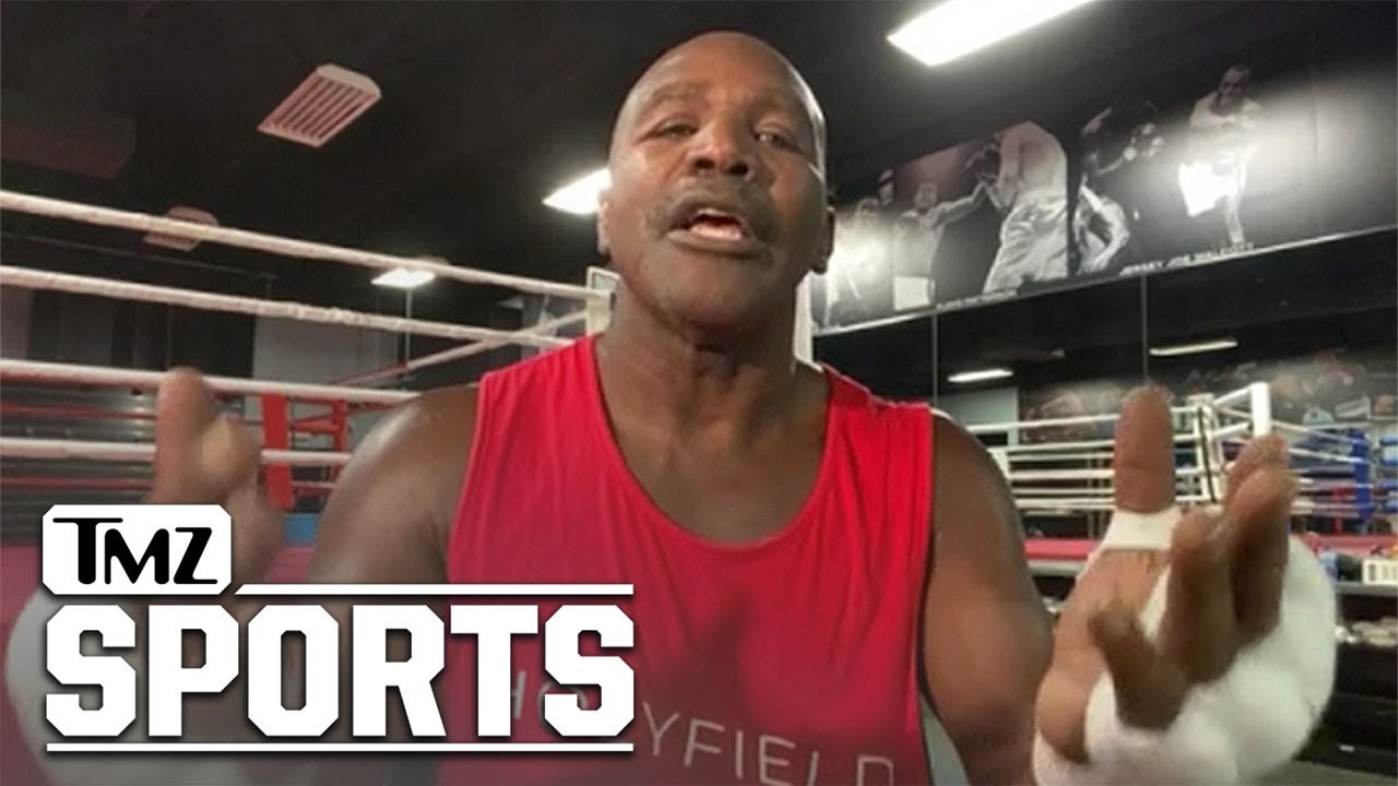 Evander Holyfield on Mike Tyson Fight, 'Looks Like It's Gonna Happen'
